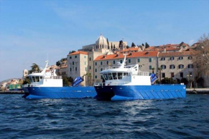Brodovi se koriste u svakodnevnom poslovanju ribog