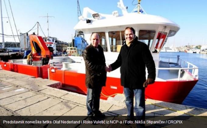 Šibenčane izvukli norveški ribari