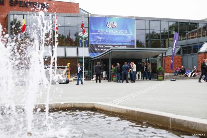 The main entrance to Aqua Nor