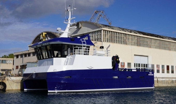Brod šibenskog brodogradilišta ISKRA