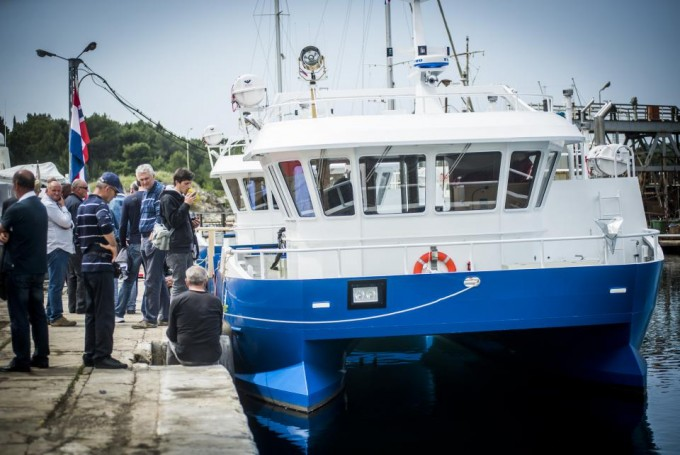 Šibenski NCP isporučuo deseti brod stranim klijent