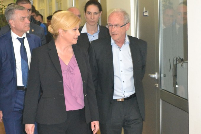 Predsjednica Kolinda Grabar-Kitarović u iNavisu